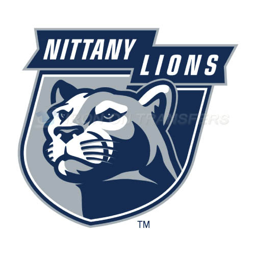 Penn State Nittany Lions Iron-on Stickers (Heat Transfers)NO.5859