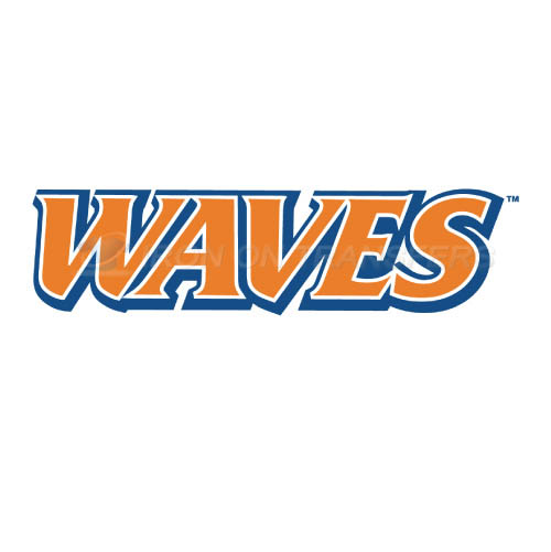 Pepperdine Waves Iron-on Stickers (Heat Transfers)NO.5881