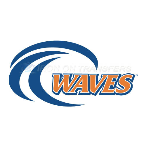 Pepperdine Waves Iron-on Stickers (Heat Transfers)NO.5885