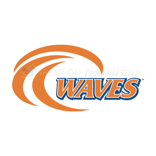 Pepperdine Waves Iron-on Stickers (Heat Transfers)NO.5886