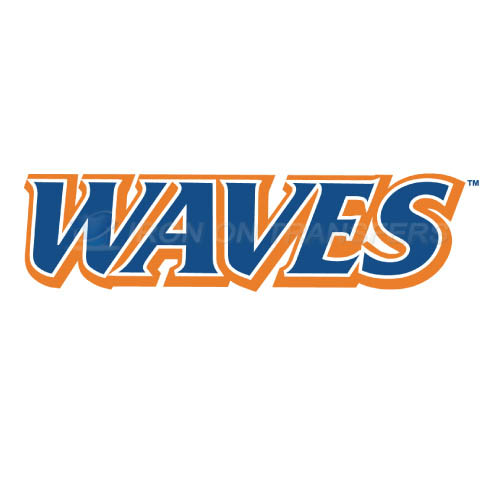 Pepperdine Waves Iron-on Stickers (Heat Transfers)NO.5887