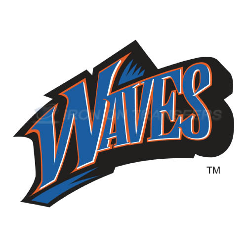 Pepperdine Waves Iron-on Stickers (Heat Transfers)NO.5890