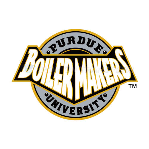Purdue Boilermakers Iron-on Stickers (Heat Transfers)NO.5949