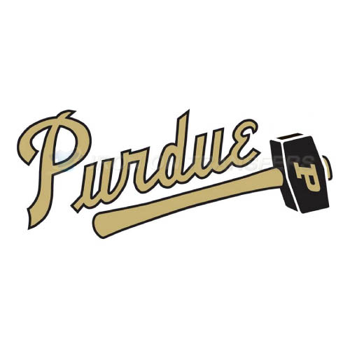 Purdue Boilermakers Iron-on Stickers (Heat Transfers)NO.5956