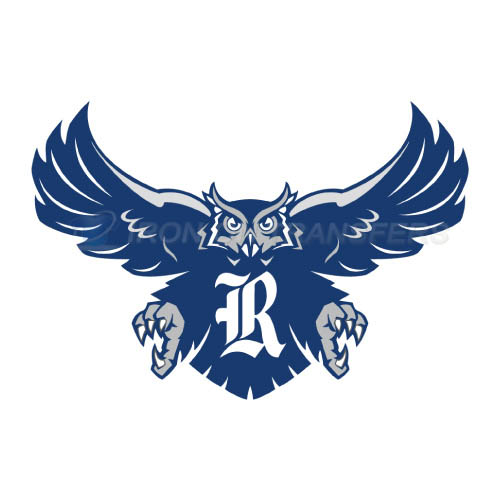 Rice Owls Iron-on Stickers (Heat Transfers)NO.5986
