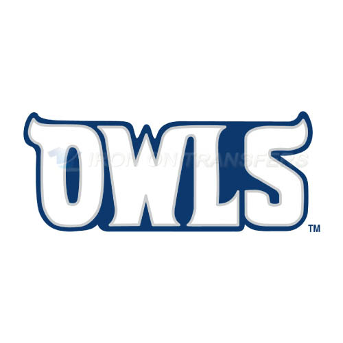 Rice Owls Iron-on Stickers (Heat Transfers)NO.5989