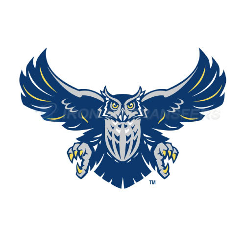 Rice Owls Iron-on Stickers (Heat Transfers)NO.5997