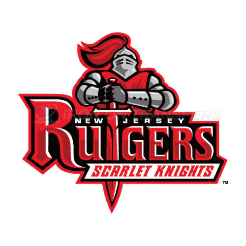 Rutgers Scarlet Knights Iron-on Stickers (Heat Transfers)NO.6034