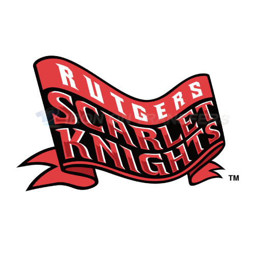 Rutgers Scarlet Knights Iron-on Stickers (Heat Transfers)NO.6037