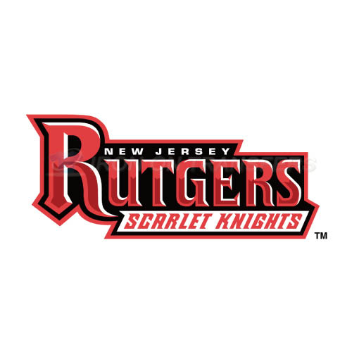 Rutgers Scarlet Knights Iron-on Stickers (Heat Transfers)NO.6040