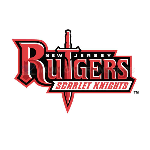 Rutgers Scarlet Knights Iron-on Stickers (Heat Transfers)NO.6042
