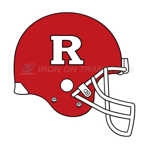 Rutgers Scarlet Knights Iron-on Stickers (Heat Transfers)NO.6047