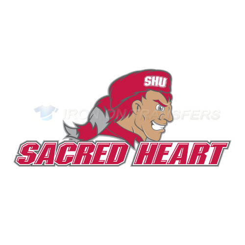 Sacred Heart Pioneers Iron-on Stickers (Heat Transfers)NO.6057