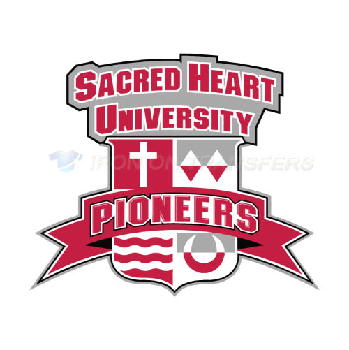 Sacred Heart Pioneers Iron-on Stickers (Heat Transfers)NO.6063