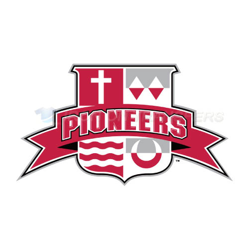 Sacred Heart Pioneers Iron-on Stickers (Heat Transfers)NO.6064