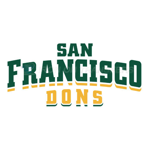 San Francisco Dons Iron-on Stickers (Heat Transfers)NO.6124