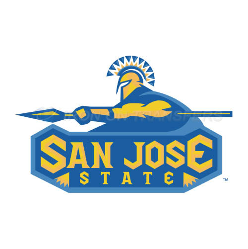 San Jose State Spartans Iron-on Stickers (Heat Transfers)NO.6129