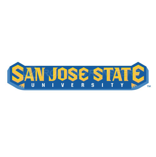 San Jose State Spartans Iron-on Stickers (Heat Transfers)NO.6133