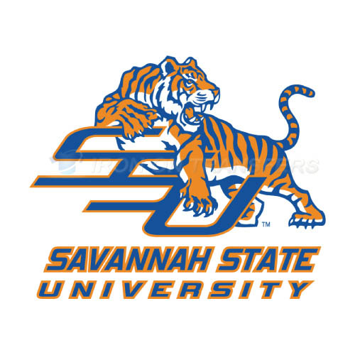 Savannah State Tigers Iron-on Stickers (Heat Transfers)NO.6140
