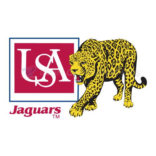 South Alabama Jaguars Iron-on Stickers (Heat Transfers)NO.6191