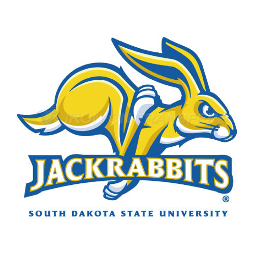 South Dakota State Jackrabbits Iron-on Stickers (Heat Transfers)NO.6223