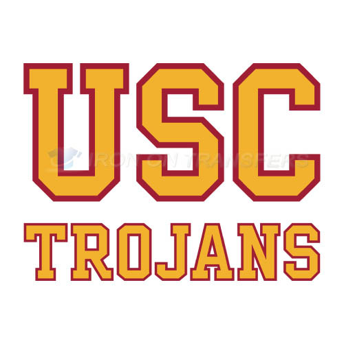 Southern California Trojans Iron-on Stickers (Heat Transfers)NO.6270
