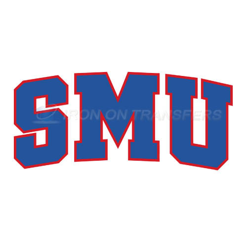 Southern Methodist Mustangs Iron-on Stickers (Heat Transfers)NO.6289