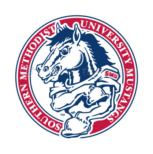 Southern Methodist Mustangs Iron-on Stickers (Heat Transfers)NO.6292