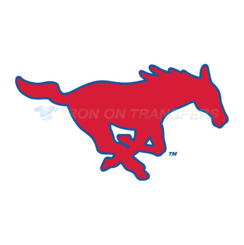 Southern Methodist Mustangs Iron-on Stickers (Heat Transfers)NO.6293
