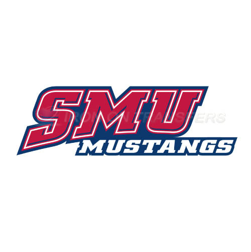 Southern Methodist Mustangs Iron-on Stickers (Heat Transfers)NO.6294