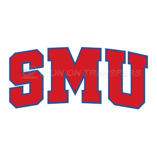 Southern Methodist Mustangs Iron-on Stickers (Heat Transfers)NO.6296