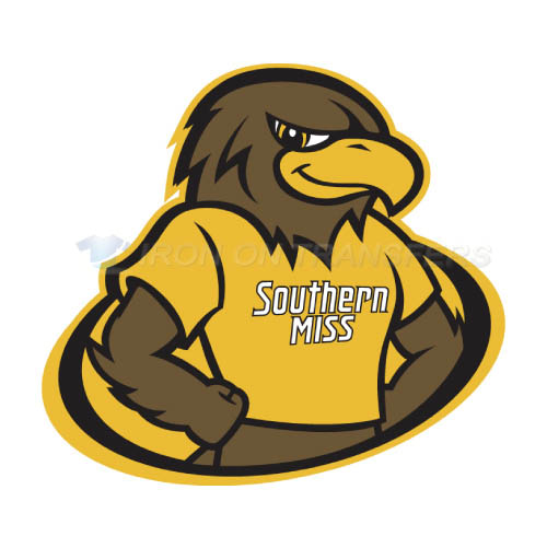 Southern Miss Golden Eagles Iron-on Stickers (Heat Transfers)NO.6307