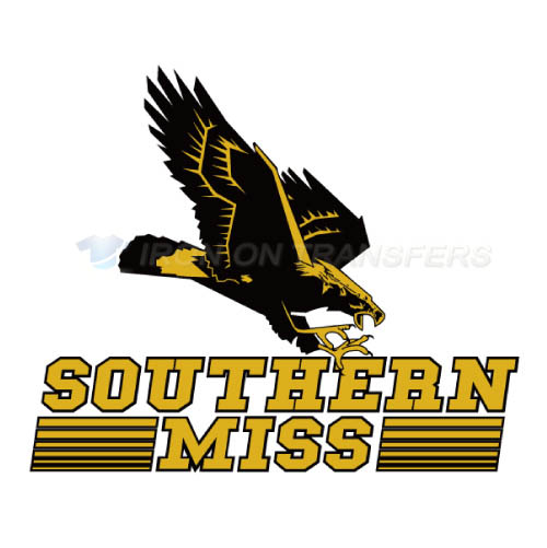 Southern Miss Golden Eagles Iron-on Stickers (Heat Transfers)NO.6310