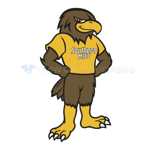 Southern Miss Golden Eagles Iron-on Stickers (Heat Transfers)NO.6311
