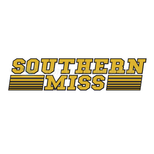 Southern Miss Golden Eagles Iron-on Stickers (Heat Transfers)NO.6312