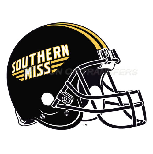 Southern Miss Golden Eagles Iron-on Stickers (Heat Transfers)NO.6313