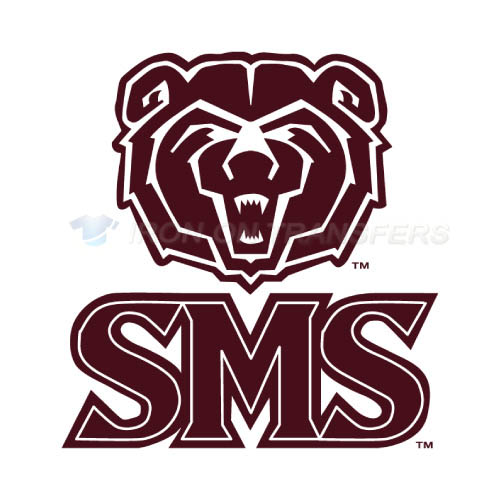 Southwest Missouri State Bears Iron-on Stickers (Heat Transfers)NO.6316