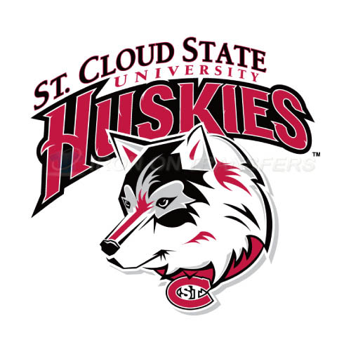 St. Cloud State Huskies Iron-on Stickers (Heat Transfers)NO.6328