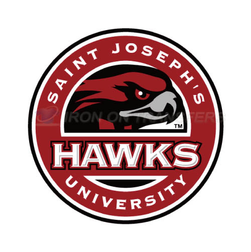 St. Josephs Hawks Iron-on Stickers (Heat Transfers)NO.6367