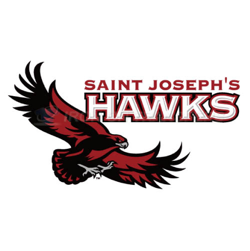 St. Josephs Hawks Iron-on Stickers (Heat Transfers)NO.6368