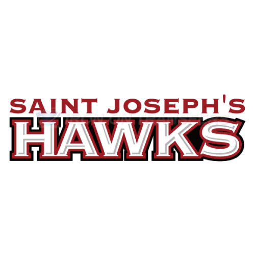 St. Josephs Hawks Iron-on Stickers (Heat Transfers)NO.6369