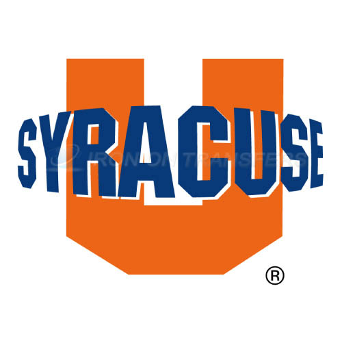 Syracuse Orange Iron-on Stickers (Heat Transfers)NO.6406