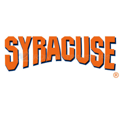 Syracuse Orange Iron-on Stickers (Heat Transfers)NO.6407