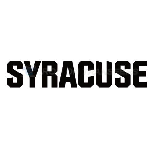 Syracuse Orange Iron-on Stickers (Heat Transfers)NO.6411