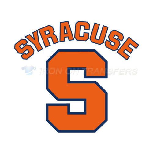 Syracuse Orange Iron-on Stickers (Heat Transfers)NO.6414