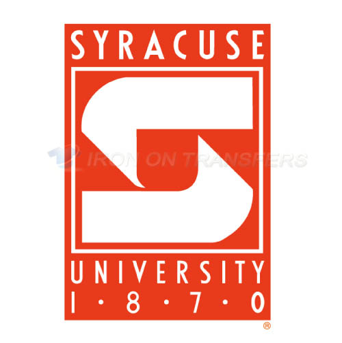 Syracuse Orange Iron-on Stickers (Heat Transfers)NO.6418