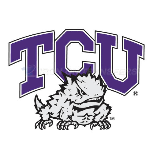 TCU Horned Frogs Iron-on Stickers (Heat Transfers)NO.6423