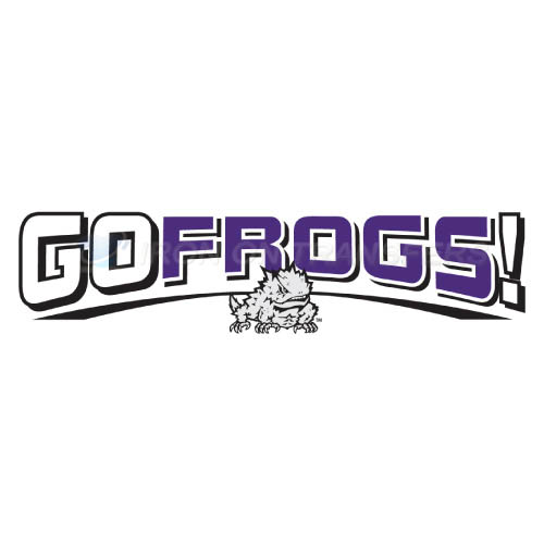TCU Horned Frogs Iron-on Stickers (Heat Transfers)NO.6424