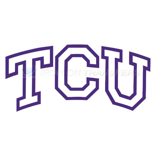 TCU Horned Frogs Iron-on Stickers (Heat Transfers)NO.6425