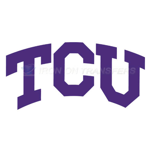 TCU Horned Frogs Iron-on Stickers (Heat Transfers)NO.6426